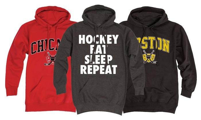 Men's Hockey Pullover Hoodies