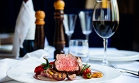 10oz Steak Meal with Glass of Wine or Beer for Two or Four at The Savannah (51% Off)