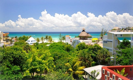 3-, 4-, or 5-Night Stay for Two in a Pool Level 1 Bedroom Unit at Acanto Boutique Hotel in Playa del Carmen, Mexico