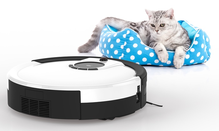 Up To 50% Off on Pet Robotic Vacuum Cleaner | Groupon Goods