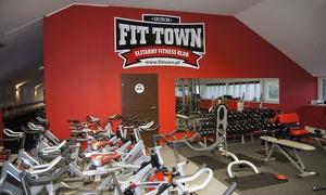 Fit Town: Wejście na siłownię: karnet open na miesiąc od 49,99 zł i więcej opcji w Fit Town