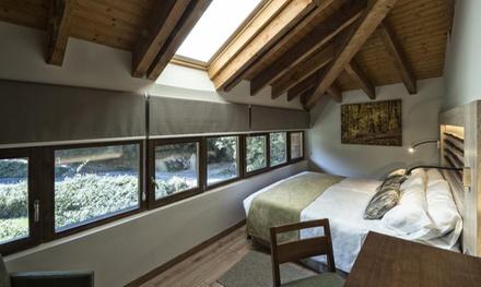 Asturias: estancia para 2 personas con desayuno, 1 cena y 1 acceso a spa en Hotel Rural Las Montanas De Pumar 4*