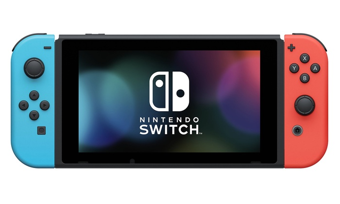 Nintendo Switch 32gb Console With Super Mario Bros U Deluxe Groupon
