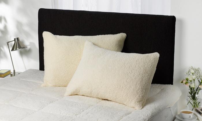 Up To 74% Off Downland Bedding Fleece Pillow  d18a2d1c82