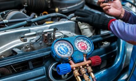 Contrôle du circuit et recharge gaz climatisation (600g) à 39,90 € au garage Meca Auto Services