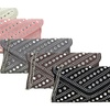 MMK Collection Giava Evening Clutch Purse with Studded Rhinestone