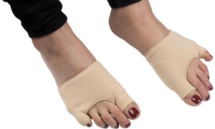 1 o 2 coppie di protettori in tela Pro11 Wellbeing per alluce e mignolo del piede per prevenire giradito
