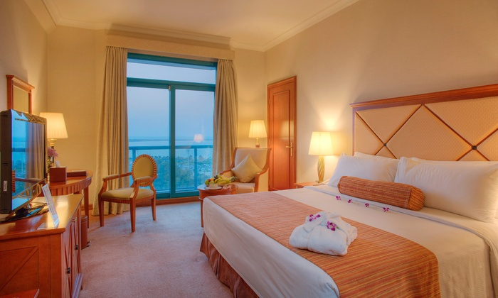 Al Diar Capital Hotel - Abu Dhabi: Abu Dhabi: 1 or 2 Nights for Two in a Deluxe Room with Option for Breakfast and Lunch or Dinner at Al Diar Capital Hotel