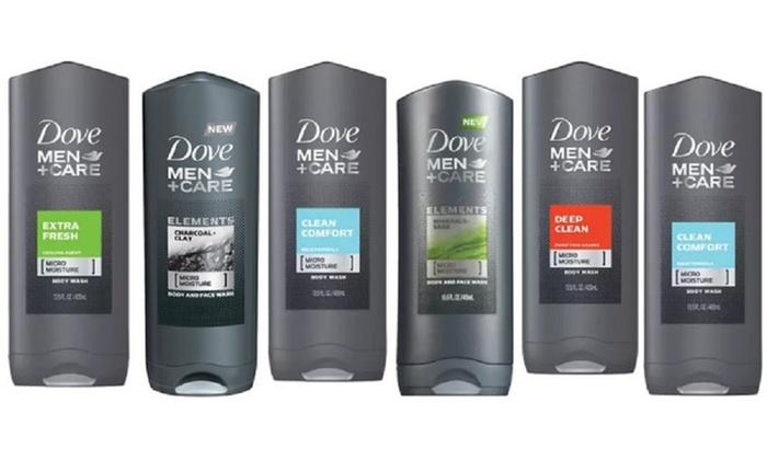 Up To 27 Off On Dove Men Shower Gel 6 Pack Groupon Goods