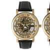 Skeletonized Style Watch for Men and Women