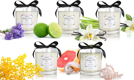 2-in-1 Massage Oil Scented Candles for Relaxation & Aromatherapy (8 Oz.)