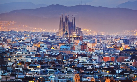 ✈ Barcelona: 24 Nights at a Choice of Hotels with Flights*