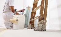 Malerarbeiten für bis zu 150 qm Streichfläche inklusive weißer Farbe bei Farbsinn Berlin (bis zu 48% sparen*)