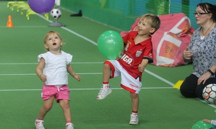 $10 for Kids' Indoor Soccer, Netball or Kinder Program at Simply Football (Up to $50 Value)