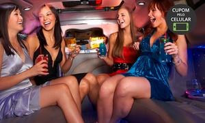 Secrett Lounge: Secrett Lounge – Vila Olímpia: entrada, open bar, passeio de limousine e taças de champanhe para 2, 4 ou 8 pessoas