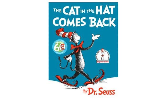 dr seuss the cat in the hat comes back beginner book