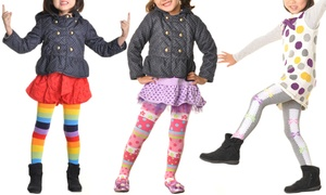 Angelina Kids' Sweater Tights (6-Pack)
