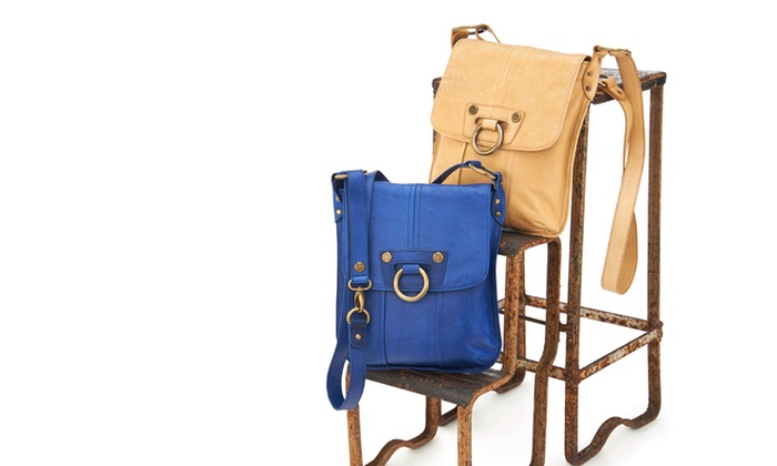 Marc New York by Andrew Marc: $89 for an Andrew Marc Ring Leader Cross-Body Bag in Cobalt or Rust ($198 List Price). Free Shipping and Returns.