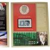 "1990s JFK Proof ""S""-Mint Half Dollar and Stamp"