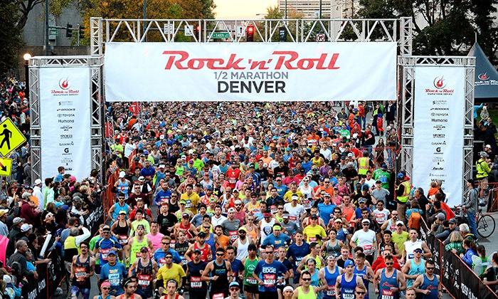 Rock 'n' Roll Marathon - Civic Center Park: Presale: Rock 'n' Roll Denver Half Marathon, 10K, or 5K on October 16, 2016