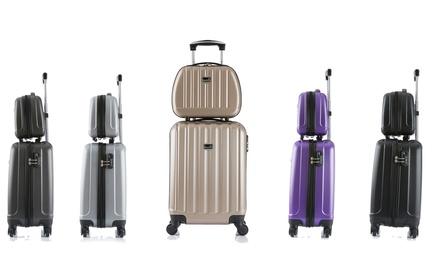 BlueStar Prague TwoPiece Cabin and Vanity Suitcase Set