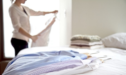Eco-Friendly Dry Cleaning at Evergreen Dry Cleaning (50% Off). Three Options Available.