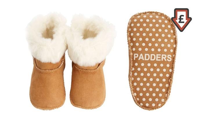 Padders Baby Faux Fur Sheepskin Boots
