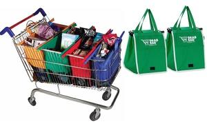 Grab Bag Reusable Grocery Bag (2-Pack) at Grab Bag Reusable Grocery Bag (2-Pack), plus 9.0% Cash Back from Ebates.