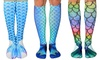 Knee-High Mermaid Socks