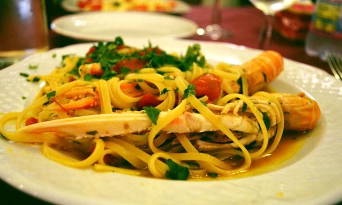Menu Di Pesce Con Dolce E Vino Ristorante Borgo Antico Groupon