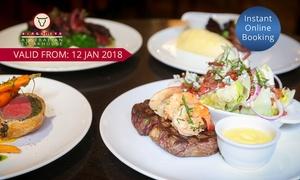 Kingsleys Australian Steakhouse Sydney: $119 for $150 to Spend on Food and Drink at Kingsleys Australian Steakhouse - King Street, Sydney