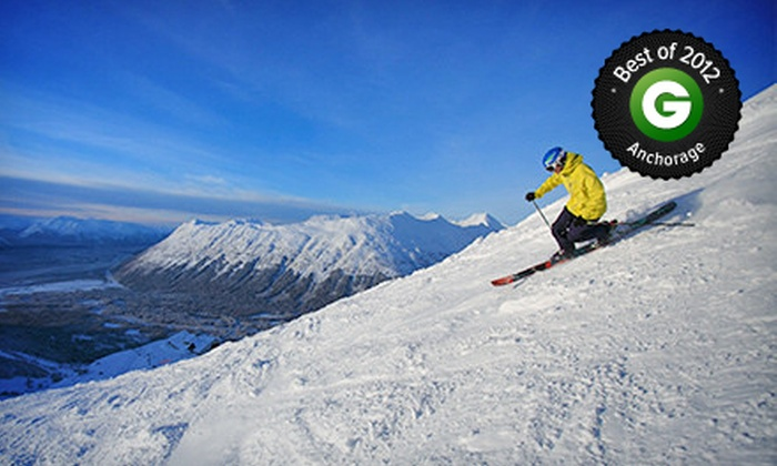 Alyeska Resort - Girdwood, AK: $30 for One Midweek Lift Ticket at Alyeska Resort (Up to $60 Value)