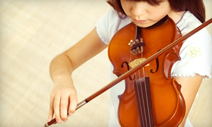 Heritage Home Conservatory - Los Angeles: $59 for Four 30-Minute or Two 60-Minute In-Home Music Lessons from Heritage Home Conservatory ($140 Value)