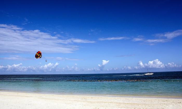 Destin Beach Parasail - Destin Harbor: Simultaneous Parasailing Flight for Two or Three from Destin Beach Parasail (Up to 40% Off)