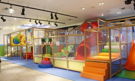 One-Hour Play Pass for One, Two, or Four Children at Kidz Klub (Up to 40% Off)