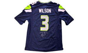 NFL Autographed Jersey - Russell Wilson