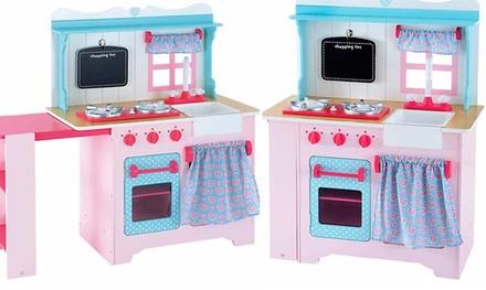 Grande cuisine en bois pour enfants à 139,99 €