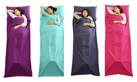 Schlafsack aus 100% Baumwolle in der Farbe nach Wahl