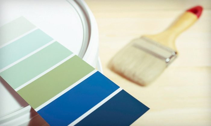 Aurora Home Services Network - Multiple Locations: Interior Painting Services for One, Two, or Three Rooms from Aurora Home Services Network (Up to 72% Off)
