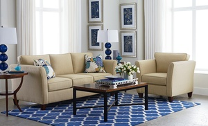 Bassett Furniture Turner Love Seat, Sofa, Queen Sleeper Sofa, Or Sectional  From $679.99u2013$1,499.99. Made Upon Order.