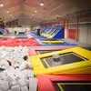 Park trampolin: godzina zabawy