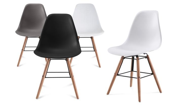 chaise scandinave bleu canard bon plan chaises scandinaves with chaise scandinave bleu canard. Black Bedroom Furniture Sets. Home Design Ideas
