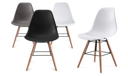 Lot de chaises scandinaves ARKKEN