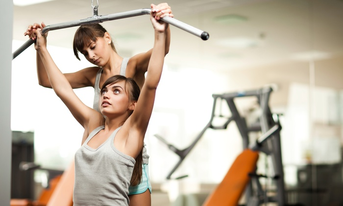Evelyn D Fitness - The Embarcadero: Four Personal Training Sessions at Evelyn D Fitness (72% Off)