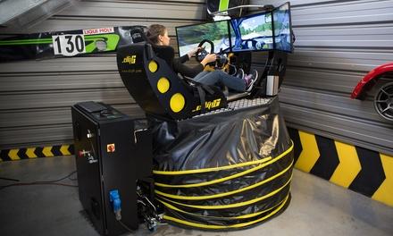 2 sessions de 9 min de simulateur de pilotage : F1, Rallye, GT pour 1, 2 ou 4 personnes dès 17,90 € chez Le Paddock