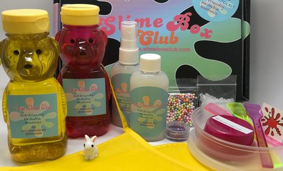 37% Off Slime Box Club Monthly Subscription