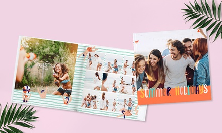 Custom 40-Page Perfect Bind Hardcover Photo Books (Up to 92% Off).