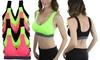 Women's Padded Neon Scoop Sports Bras (6-Pack): Women's Padded Neon Scoop Sports Bras (6-Pack)