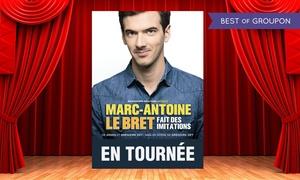 DH Management: 2 Places pour Marc-Antoine le Bret le samedi 28 janvier 2017 à 20h30, dès 35 € au Kabaret Champagne Music Hall