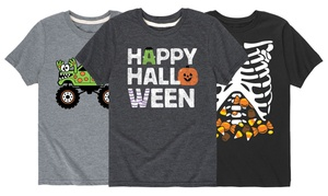 Toddlers' and Kids' Funny Halloween Tees